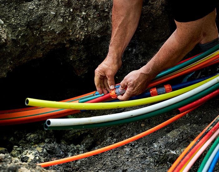 Nedgravning af fiber | CPK Gruppen