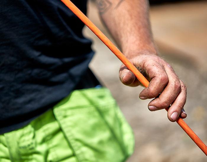 Nedgravning af fiberkabler | CPK Gruppen